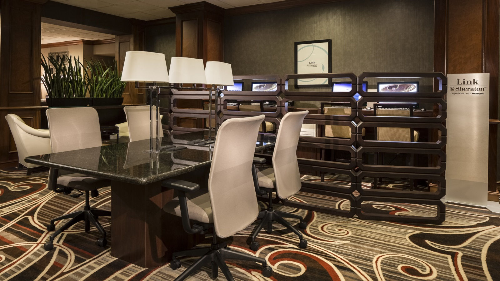Sheraton Omaha Hotel Features - Business Center